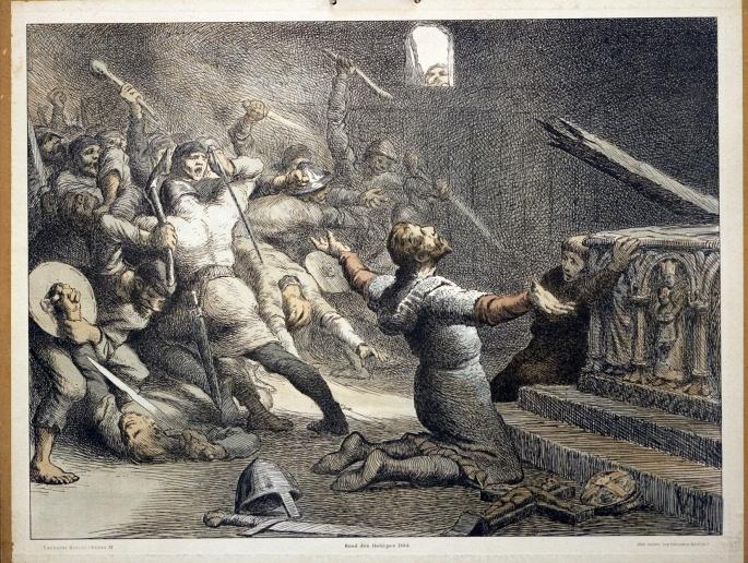Knud den Helliges Død