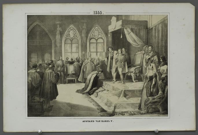 Abdication of Charles V (1555)