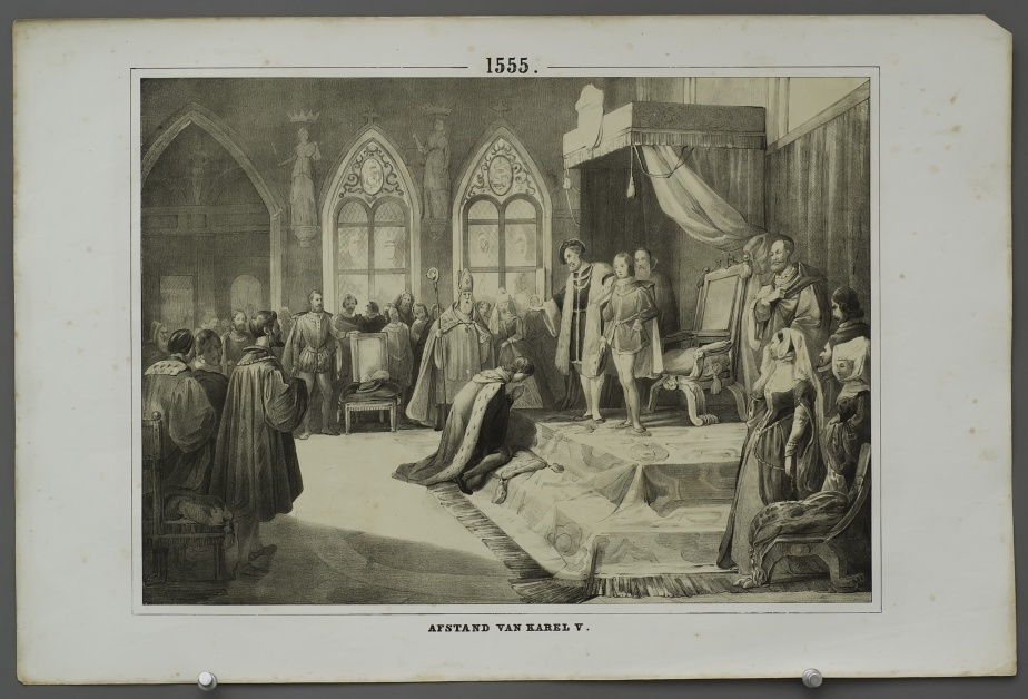 Abdication of Charles V (1555)