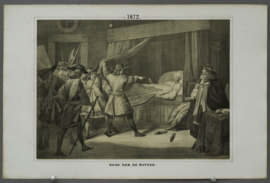 Death of the brothers De Witt (1672)