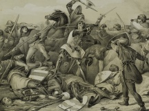 The death of Count Willem IV (1345)