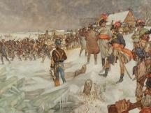 Franse troepen trekken over de Lek, 15 januari 1795.