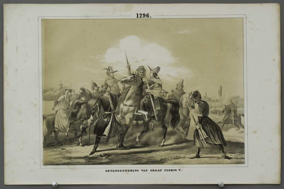 The capture of Count Floris V (1296)