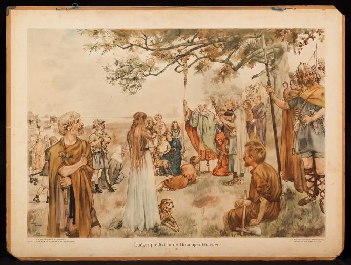 Ludger predikt in de Groninger Gouwen, 785