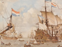Krijgsraad vr de vierdaagschen zeeslag, 1666.
