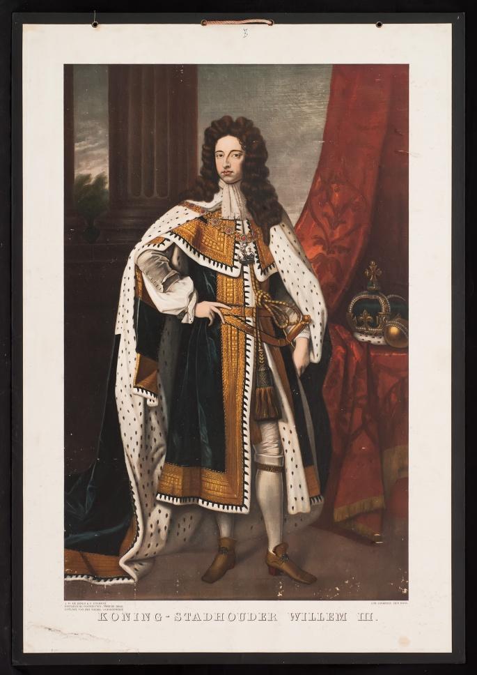 Koning - stadhouder Willem III.