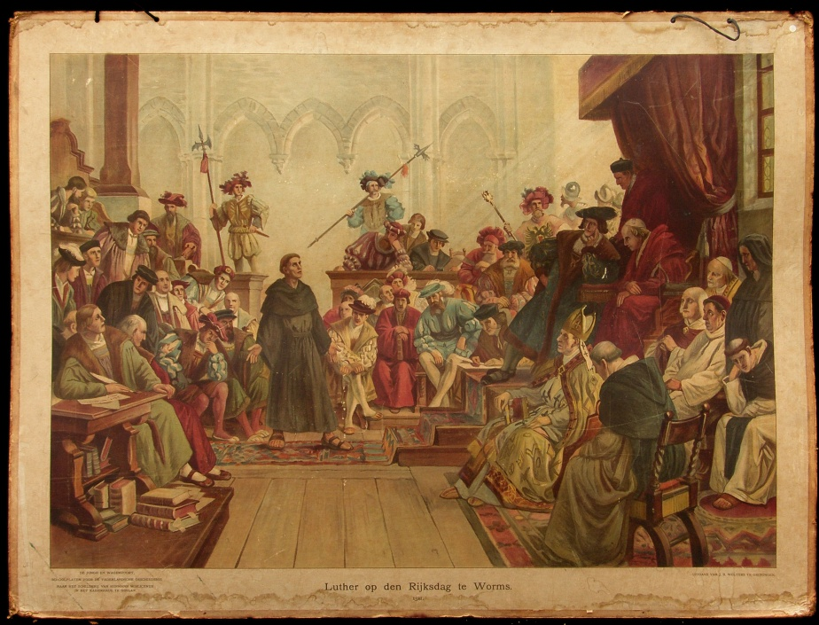 Luther op de Rijksdag te Worms, 1521