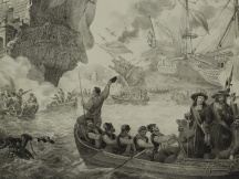 The capture of the Royal Charles on the Thames (1667)