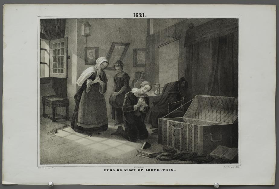 Hugo de Groot at Loevestein (1621)