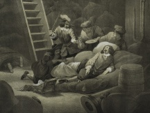 Jan van Galen injured at Leghorn (1653)