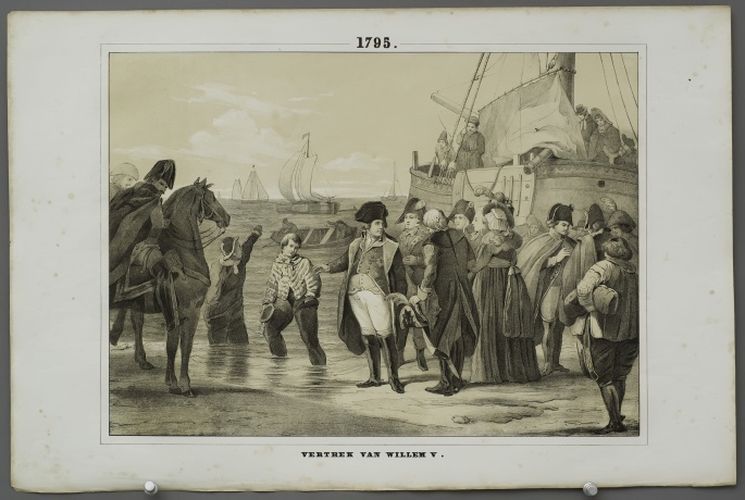 Departure of William V (1795)