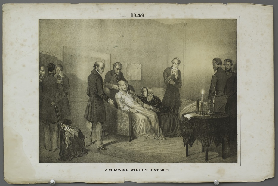 H.M. King William II passes away (1849)