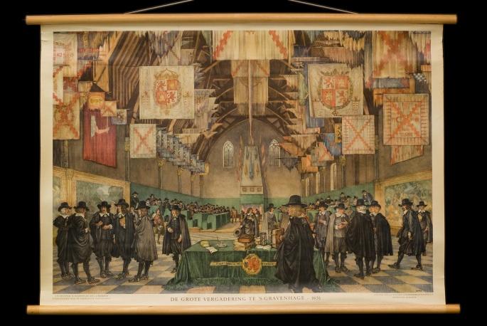 De grote vergadering te 's-Gravenhage, 1651.