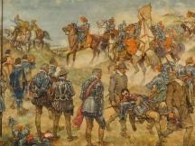 De slag bij Nieuwpoort.