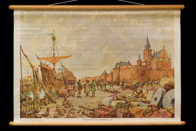 De Hanzestad Kampen, 1441.