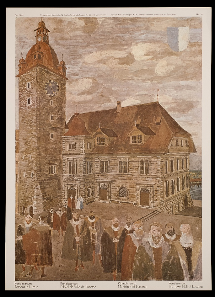 Renaissance: Town hall of Lucerne