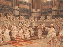 Cicero's Oration against Catiline in the Senate