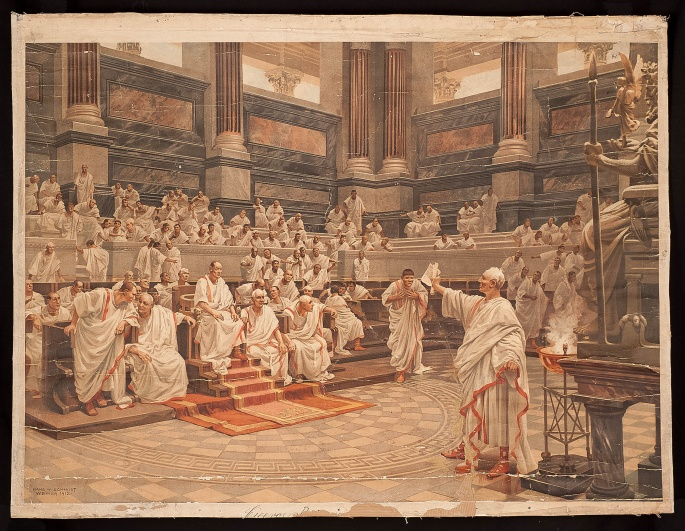 Cicero's Oration against Catiline in the Senate
