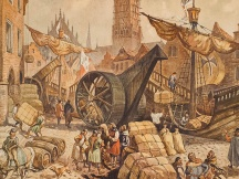 Bruges at the time of the Hanseatic League