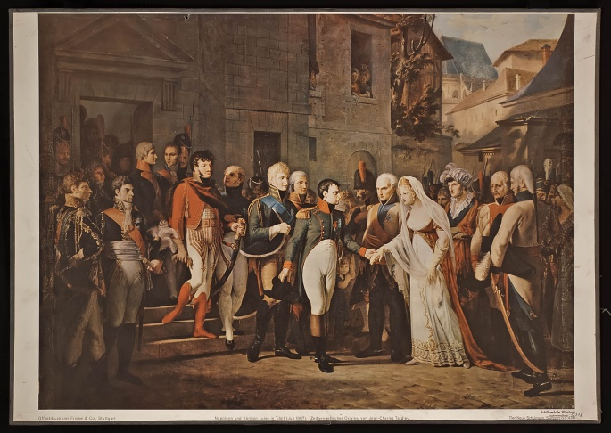 Napoleon and Queen Louise in Tilsit (July 1807)
