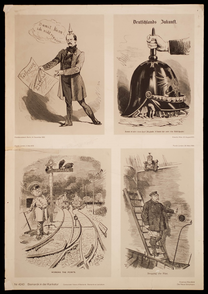 Caricatures of Bismarck