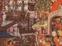 Life in a harbor of the Hanseatic League