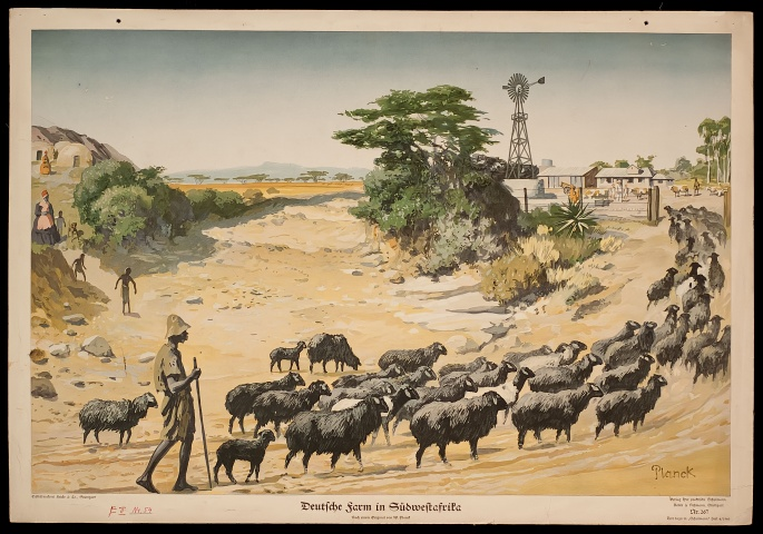 A German farm in South-West Africa