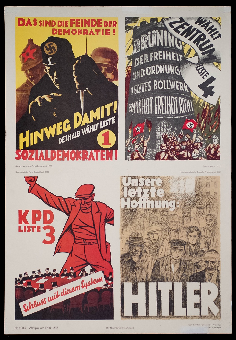 Election posters (1930-1932)