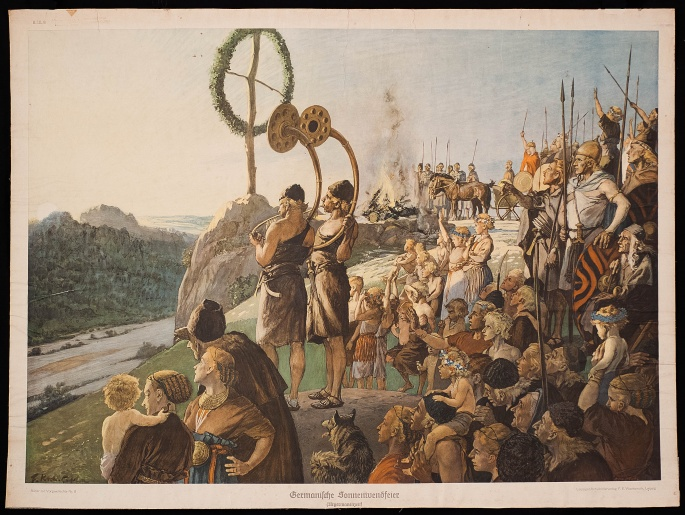 Germanic Solstice Celebration (Proto-Germanic period)