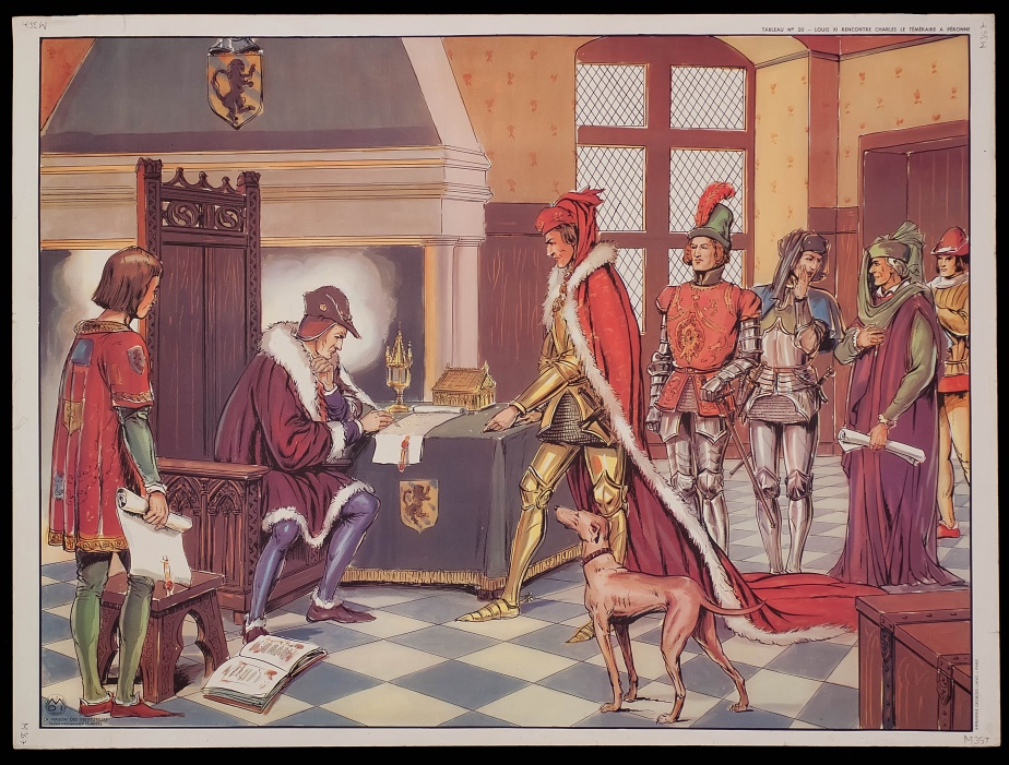 Louis XI of France meets Charles the Bold in Péronne