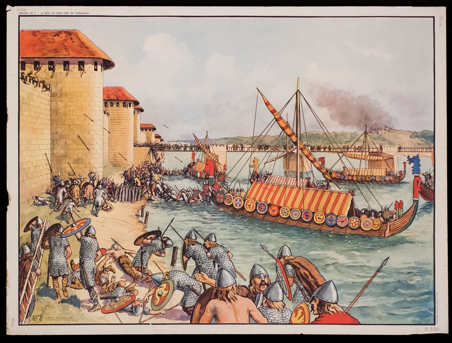 The Viking siege of Paris