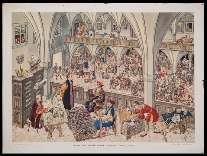 A banking and trading house in the early modern period (Fugger)
