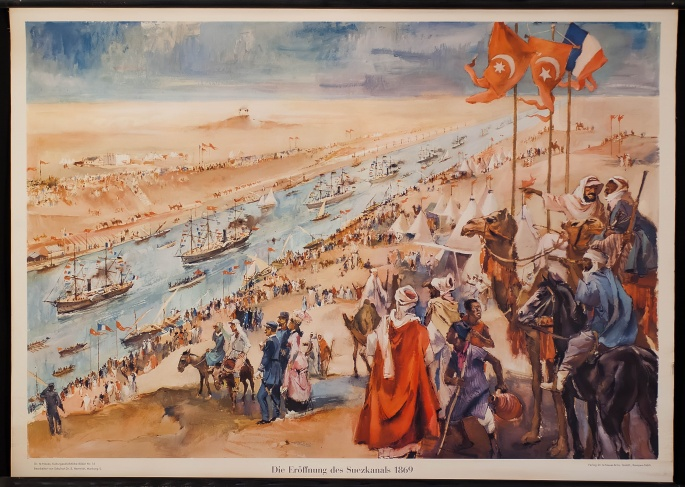 Inauguration of the Suez Canal 1869